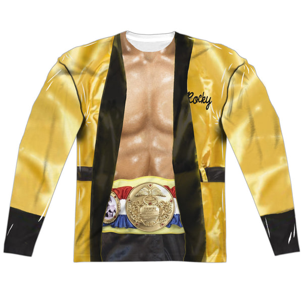 Rocky - Yellow Robe Costume (front & back)