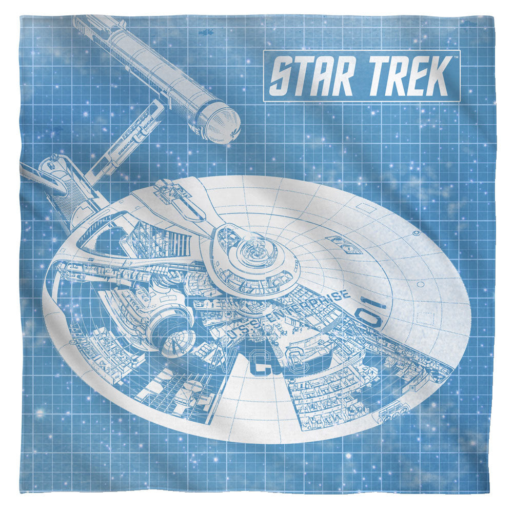 Star Trek - Enterprise Blueprint Bandana