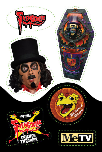 Limited Edition Svengoolie Magnets