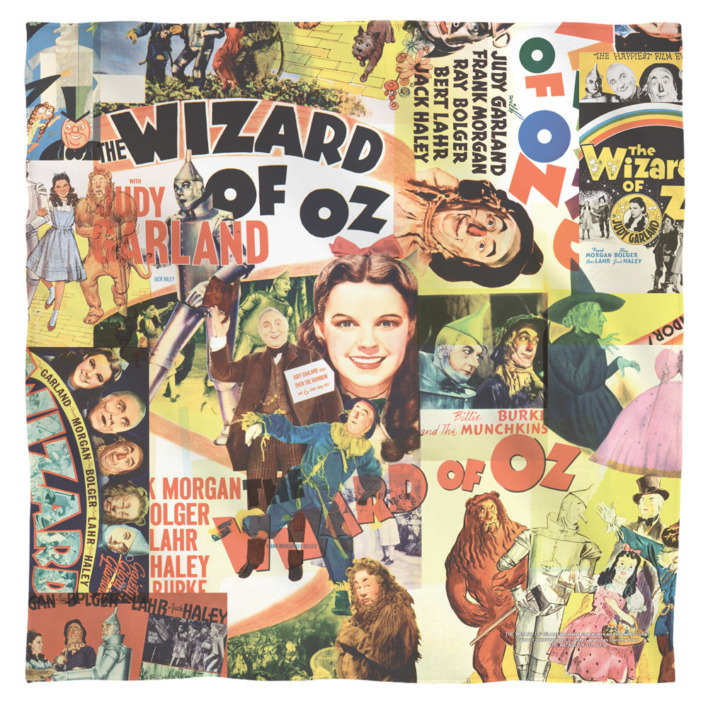 Wizard of Oz - Collage Bandana