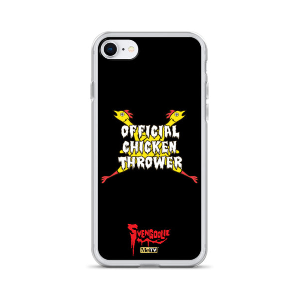 Svengoolie Official Chicken Thrower iPhone Case