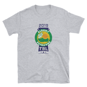 2019 Albany Patroons TBL Champions Short-Sleeve Unisex T-Shirt