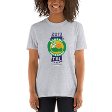 Load image into Gallery viewer, 2019 Albany Patroons TBL Champions Short-Sleeve Unisex T-Shirt