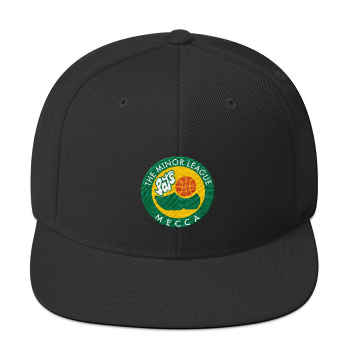 Albany Patroons - The Minor League Mecca Snap Back Adjustable Hat