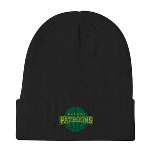 Patroons Embroidered Beanie