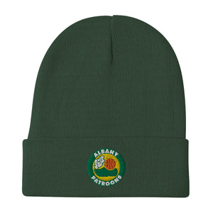 Patroons Throwback Embroidered Beanie