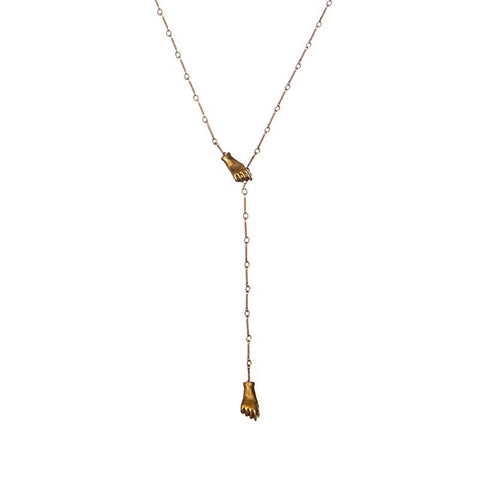 Right Hand Lariat Necklace