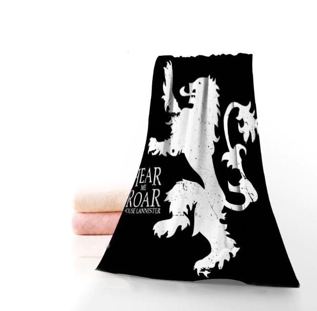 "Serviette de Plage ""Game of Thrones House Lannister"""
