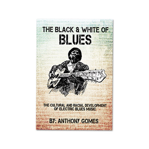 'The Black & White of Blues' - BOOK
