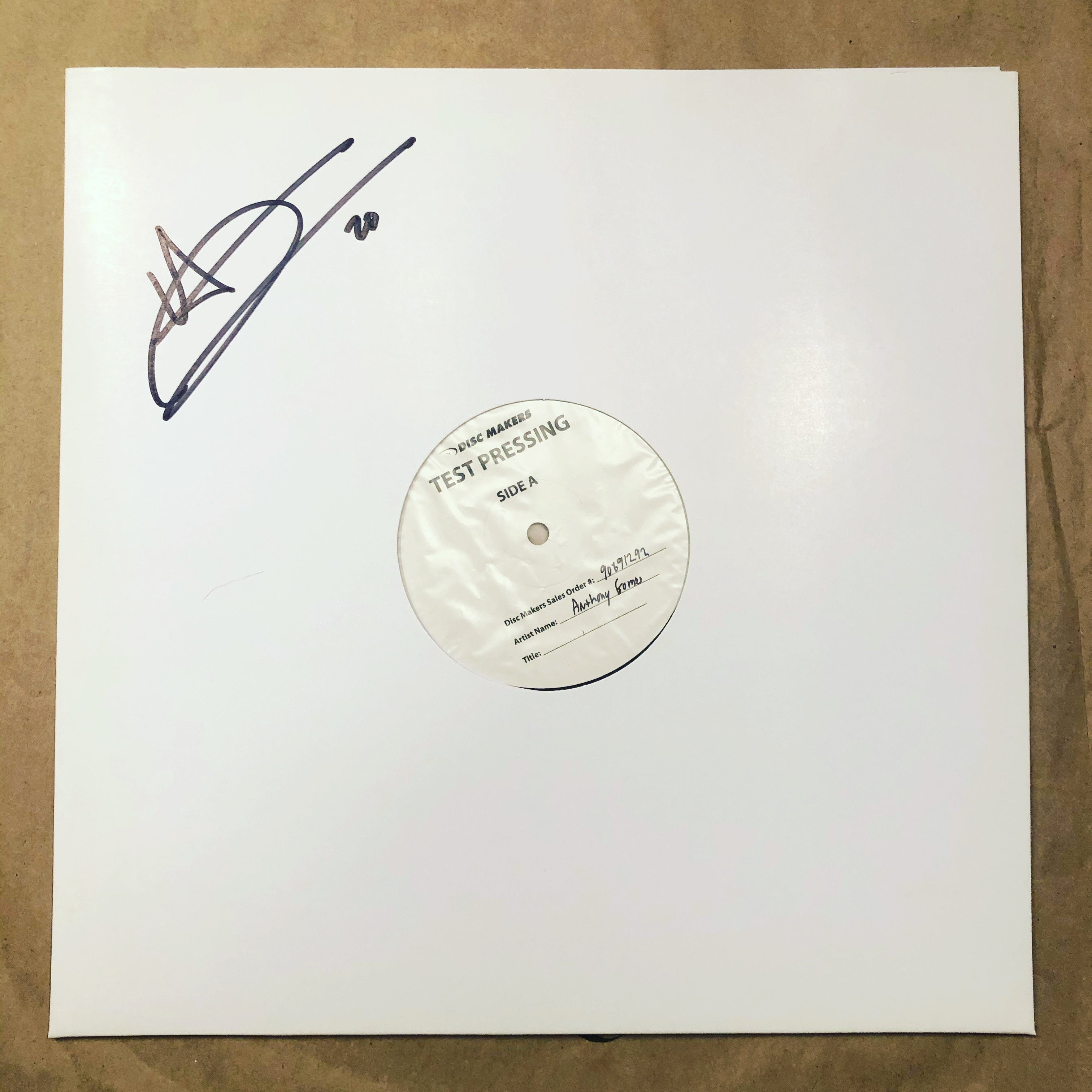 Peace, Love & Loud Guitars (Vinyl) - Test Pressing Signed - Available in USA & Canada Only.