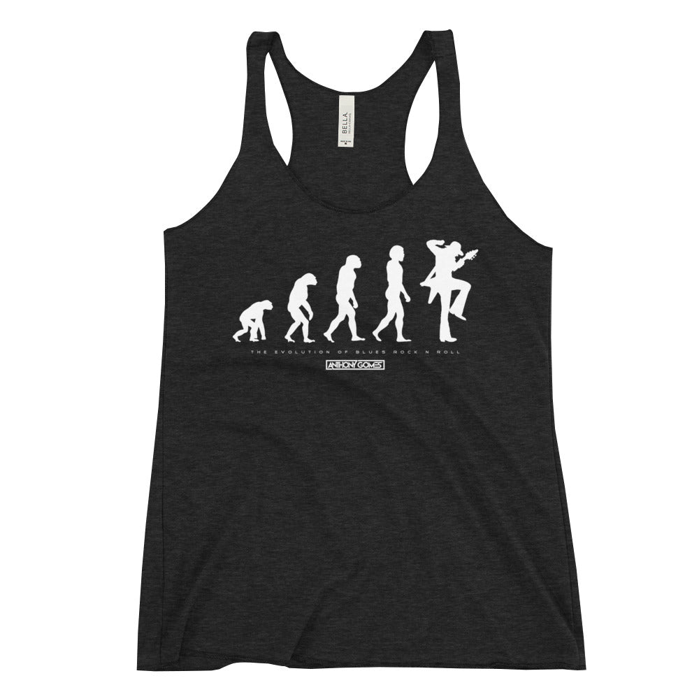Blues Evolution Women's Racerback Tank