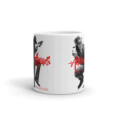 Image of Peace, Love & Loud Guitars Mug