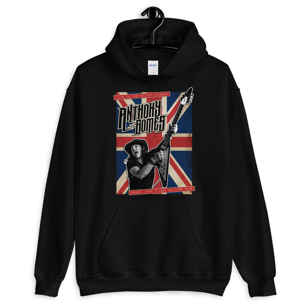 Anthony Gomes Live In The UK Unisex Hoodie