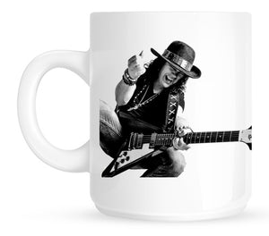 Peace, Love & Loud Guitars Mug