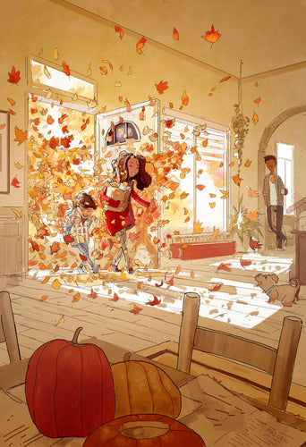 And Then Fall Came In... - Open Art Print
