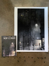 "Load image into Gallery viewer, ""Lifeline"" - Limited Edition Giclee Print - The New Yorker Cover April 13, 2020"