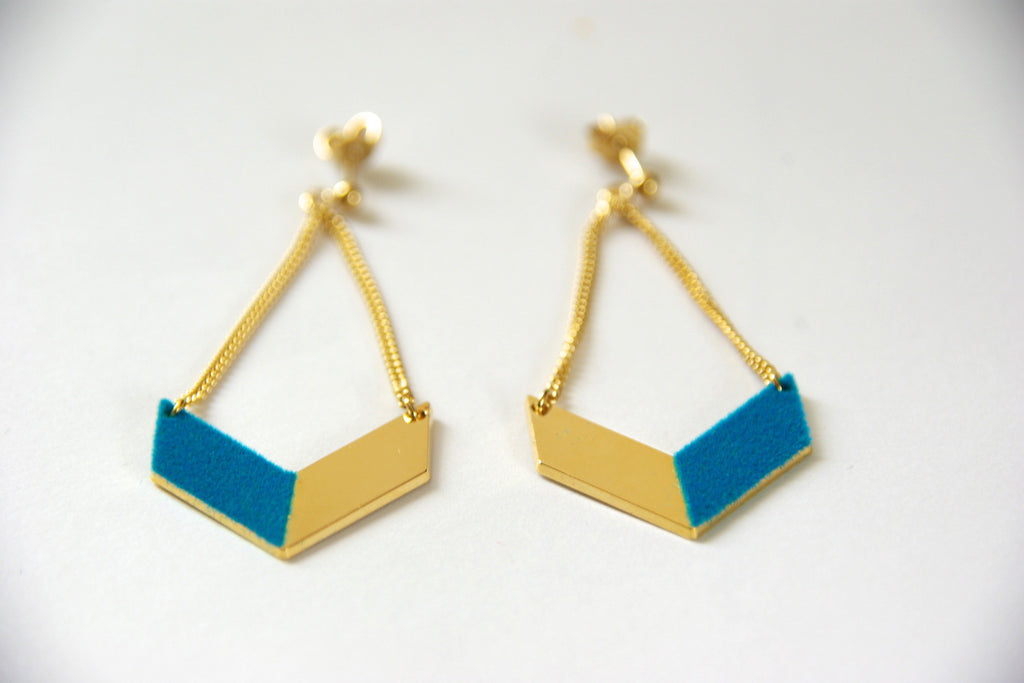 Anne Thomas - Camille Earrings - Kudecoeur