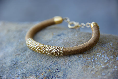 Médecine Douce - Gecko Bangle - Kudecoeur