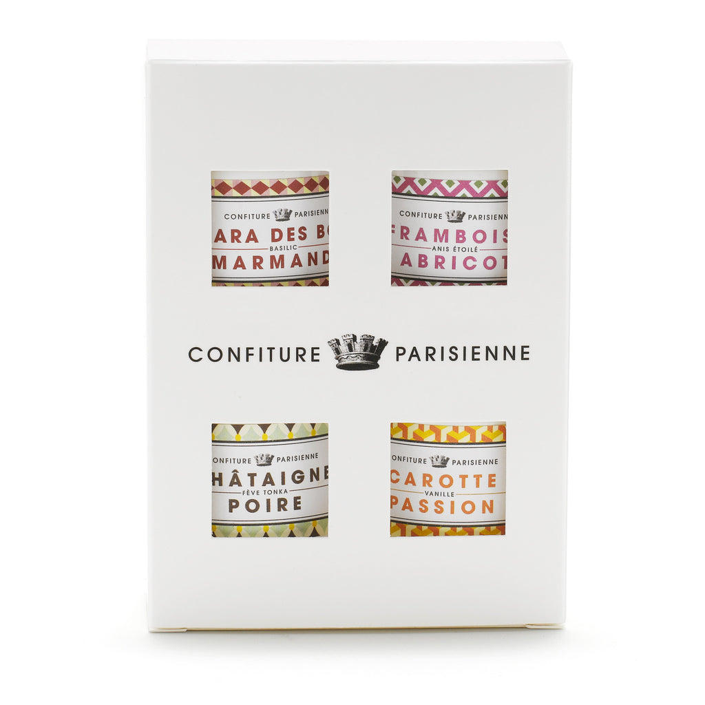 Confiture Parisienne - Pack of 4 little jams