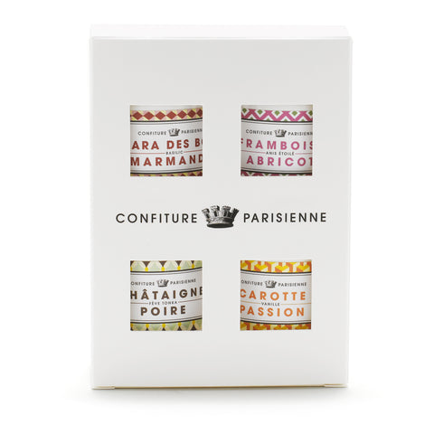 Confiture Parisienne - Pack of 4 little jams *