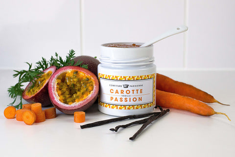 Confiture Parisienne - Carrot / Vanilla / Passion fruit - Jam - Kudecoeur