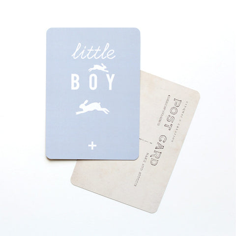 Cinq Mai - Little Boy - PostCard - Kudecoeur