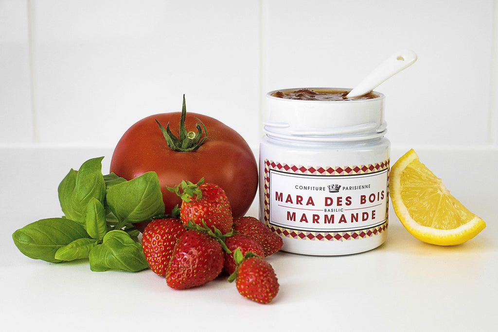 Confiture Parisienne - Strawberry / Basil / Tomato - Jam - Kudecoeur