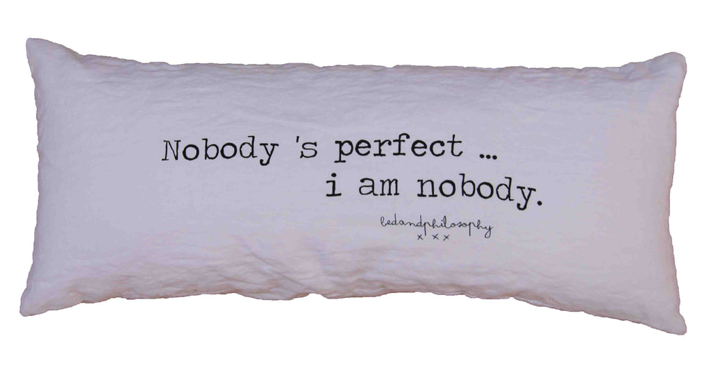 Bed and Philosophy - Smoothie Pillow - Kudecoeur