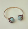 Dragon Torquise Ball Bangle