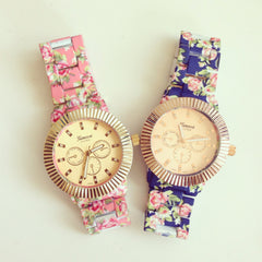 Floral June Watch with wing