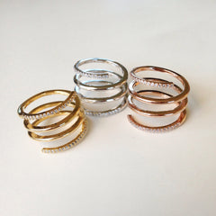 Lucy Four Line Ring