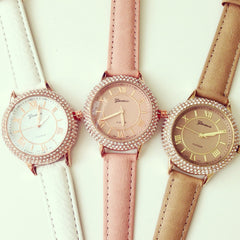 Elizabeth Rhinestone Watch