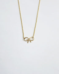 Simple Bow Necklace