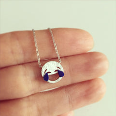 Emoji Laugh At Your Face Necklace