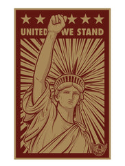UNITED WE STAND - POSTER
