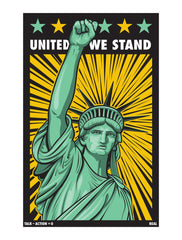 UNITED WE STAND - STICKER