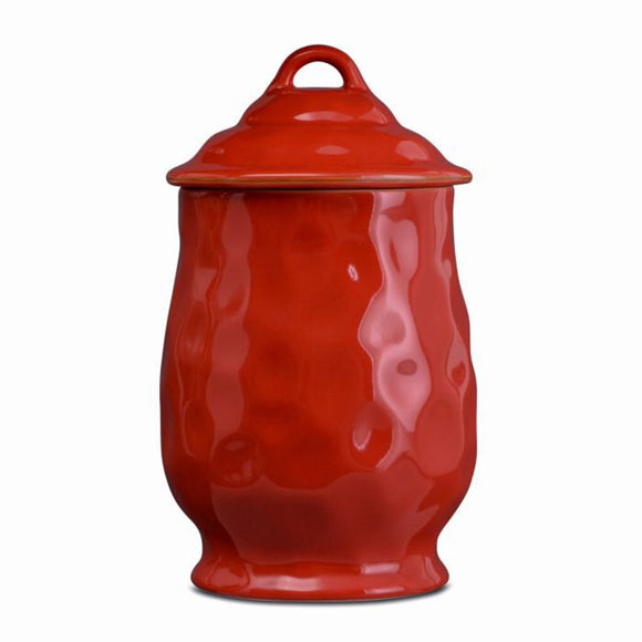 Cantaria Large Canister - Poppy Red