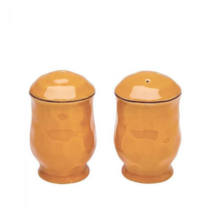 Cantaria Salt & Pepper Set - Golden Honey