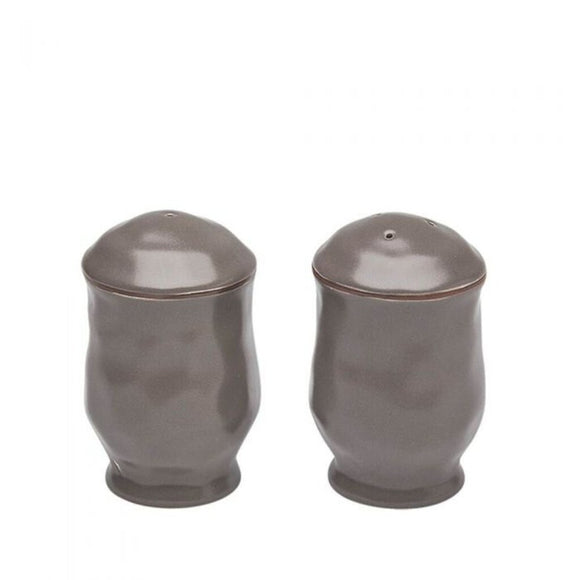 Cantaria Salt & Pepper Set - Charcoal