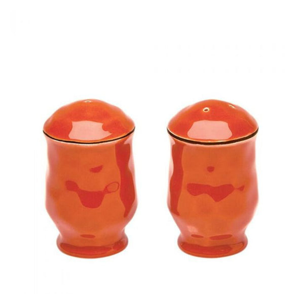 Cantaria Salt & Pepper Set - Persimmon