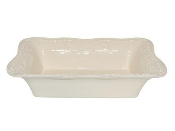 Isabella Small Rectangular Bakers Dish - Linen
