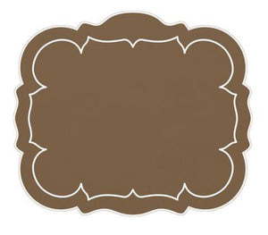 Linho Rectangular Table Place Mats - Taupe