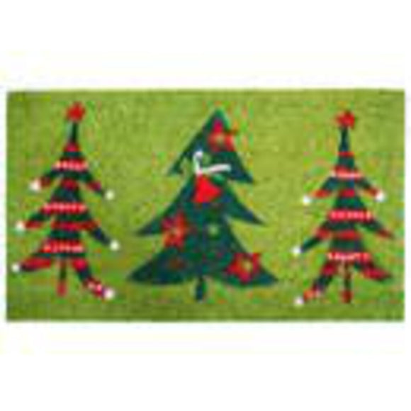 Christmas Trio Door Mat