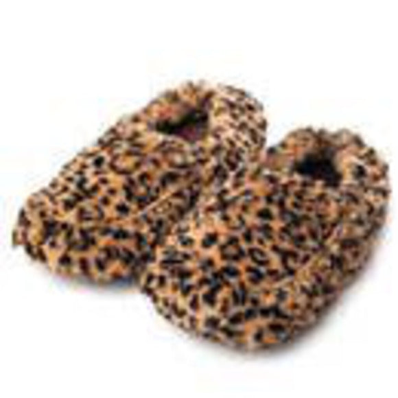 Leopard Warmies Slippers
