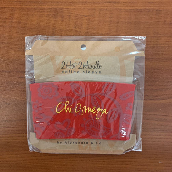 Chi Omega Coffee Sleeves