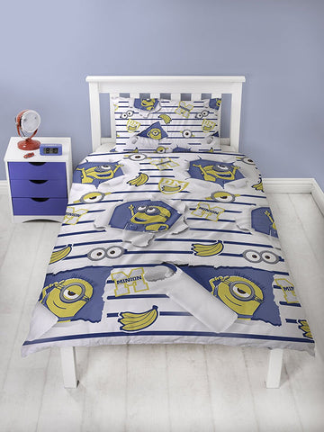Despicable Me Awesome Single Duvet Cover Set Front