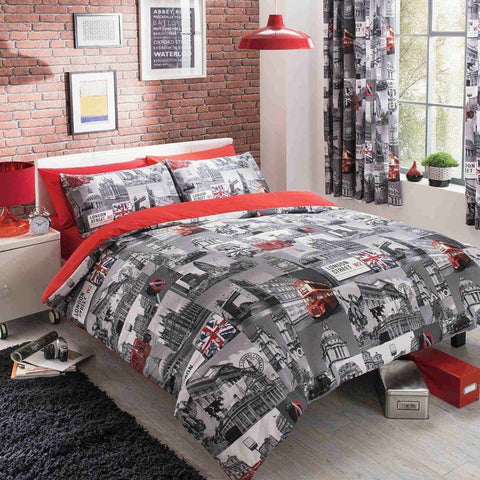 London City King Duvet Cover Set
