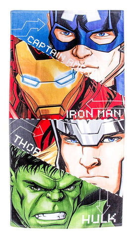 Marvel Avengers Tech Beach Bath Towel