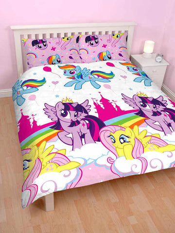 My Little Pony Equestria Double Duvet Cover Set Polyester Front