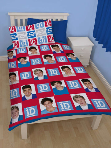One Direction Craze Single Bed Set Front
